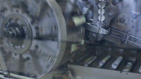 旋转机构和传送带 行业主题 股票视频