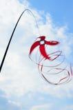 旋转的风筝 免版税图库摄影