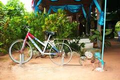 旋转的水自行车 库存图片