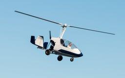 旋转直升飞机 免版税库存照片