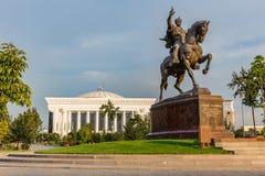 贵族帖木尔Maydoni,在塔什干,乌兹别克斯坦 免版税库存图片