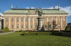 贵族斯德哥尔摩议院  免版税库存图片