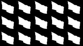 旗子中美洲(第1部分的2) 皇族释放例证