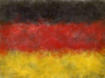 旗子德国 向量例证