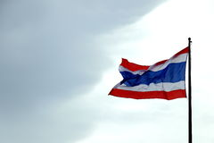 旗子有三,当结合,泰国 免版税库存图片