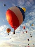 旗子气球 免版税图库摄影