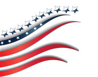 旗子美国背景模板 库存图片