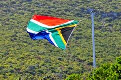 旗子-开普敦,南非海岸 库存照片