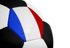 旗标橄榄球法语 免版税图库摄影