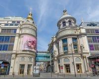 旗舰Printemps百货大楼在巴黎 图库摄影