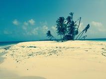 无人居住的海岛 图库摄影