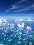 无休止的天空 免版税图库摄影