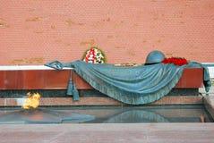 无名战士坟茔在莫斯科 免版税库存图片