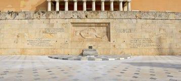 无名战士纪念碑,雅典,希腊 库存图片