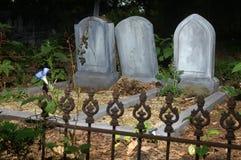 无名的墓碑 库存图片