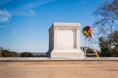 无名英雄墓特写镜头巡逻卫兵11月2016 B 免版税图库摄影