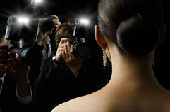 无固定职业的摄影师 免版税库存图片