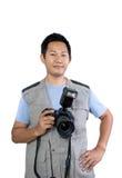 无固定职业的摄影师 免版税图库摄影