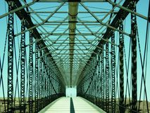 无处桥梁 免版税图库摄影