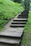 无处楼梯 免版税库存照片