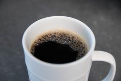 无奶咖啡在家 免版税库存照片