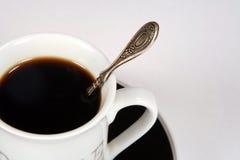 无奶咖啡杯子 免版税库存照片