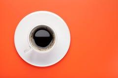 无奶咖啡杯子 免版税图库摄影