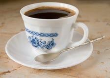 无奶咖啡杯子 库存照片