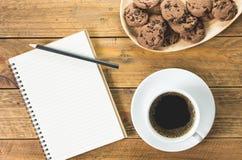 无奶咖啡桌集合 免版税图库摄影