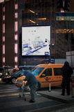 无家可归的人在纽约 库存照片