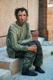 无家可归的人 免版税库存照片