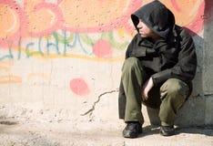 无家可归的寿命 免版税库存图片