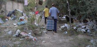无家可归的生活010 免版税图库摄影