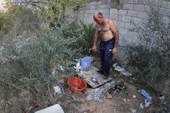 无家可归的生活016 免版税库存图片