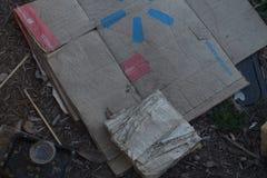 无家可归的vibe 图库摄影