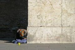 无家可归者vi 库存图片