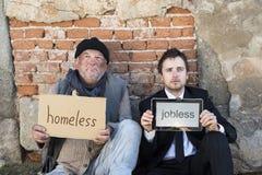 无家可归 免版税库存照片