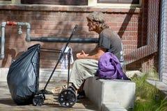 无家可归 免版税图库摄影