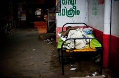 无家可归 免版税库存图片