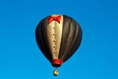 无尾礼服热空气气球 免版税图库摄影