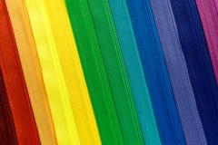 无形的拉链五颜六色的背景对角线线 库存图片