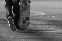 无形的溜冰者 免版税库存图片