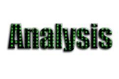 无政府主义 题字有摄影的纹理,描述绿色小故障标志 库存例证