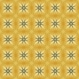 无止境的光栅金子 免版税库存图片