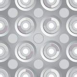 无止境的光栅银 图库摄影