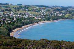无疑海湾北国新西兰 免版税库存图片