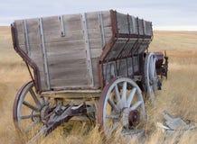 无盖货车木头 免版税图库摄影