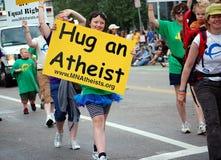 无神论者明尼苏达 免版税库存照片