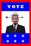 无积极性选择政治政治表决选民年 免版税库存图片