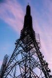 无线电天线塔 库存图片